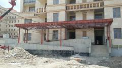 Construction of constructions, buildings