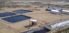 Waterproofing of artificial lakes, ponds and