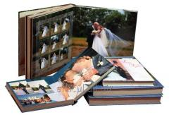 Service of the printing of photobooks with photos