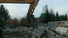 Dismantle, demolition - buildings, constructions