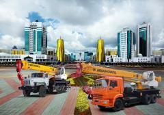 Услуги автокрана Астана