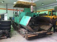 Rent of an asphalt spreader 1500s
