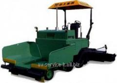 Rent of an asphalt spreader 2