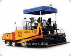 Rent of an asphalt spreader 3