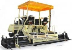 Rent of an asphalt spreader 6