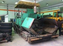 Rent of an asphalt spreader 8