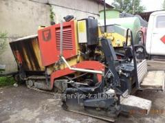 Rent of an asphalt spreader of dynapac 1