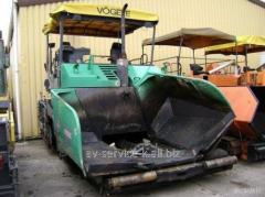 Rent of an asphalt spreader Vogel