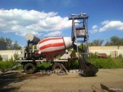 Rent of a betonosmesitel 2