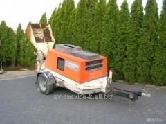 Rent of a betonosmesitel of brinkmann dc 260/43db
