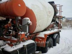 Rent of a betonosmesitel KamAZ 581460