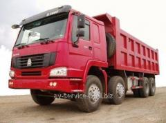 Lease of the howo 1 truck