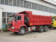 Lease of the howo 10 truck