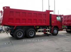 Lease of the howo sinotruck-25tn truck