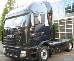 Lease of the iveco stralis truck