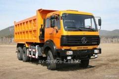 Lease of the north-benz 1 truck