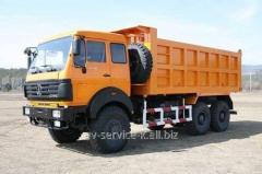 Lease of the north-benz 2 truck