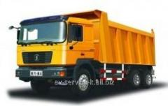 Lease of the shaanxi-man truck