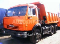 Lease of the truck of euro KamAZ