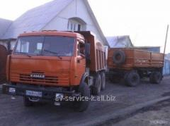 Lease of the truck KamAZ 12