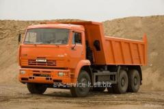 Lease of the truck KamAZ 13