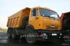 Lease of the truck KamAZ 15
