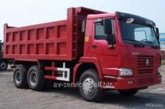 Lease of the truck KamAZ 17