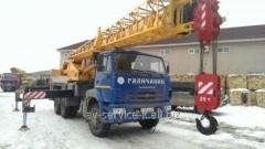 Lease of the truck KamAZ 19