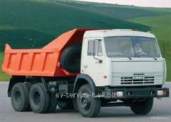Lease of the truck KamAZ 2
