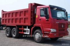 Lease of the truck KamAZ 20
