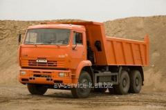 Lease of the truck KamAZ 21