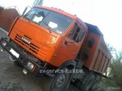 Lease of the truck KamAZ 27