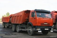 Lease of the truck KamAZ 28