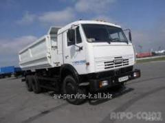 Lease of the truck KamAZ 3
