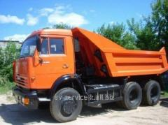 Lease of the truck KamAZ 55111