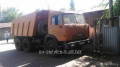 Lease of the truck KamAZ 6
