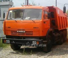 Lease of the truck KamAZ 65115 1