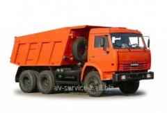 Lease of the truck KamAZ 65115 2