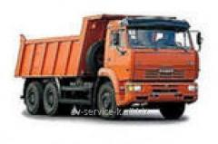 Lease of the truck KamAZ 6520