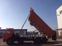 Lease of the truck KamAZ 65201