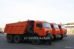 Lease of the truck KamAZ 7