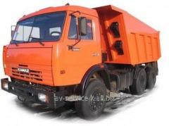 Lease of the truck KamAZ 9