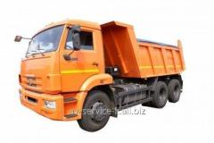 Lease of the truck KamAZ, gas