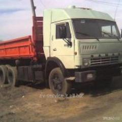 Lease of the truck KamAZ - an agricultural
