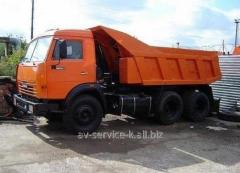 Lease of the truck KamAZ-55111
