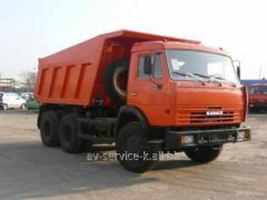 Lease of the truck KamAZ-65115 3
