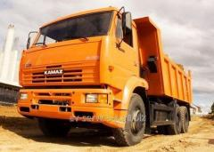 Lease of the truck KamAZ-6520 1