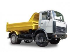 Lease of the truck maz-555102-220
