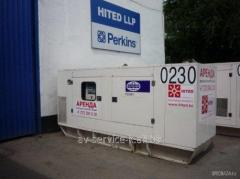 Rent of the diesel fg wilson p200h 5
