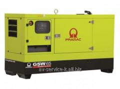 Rent of the diesel pramac gsw 65p